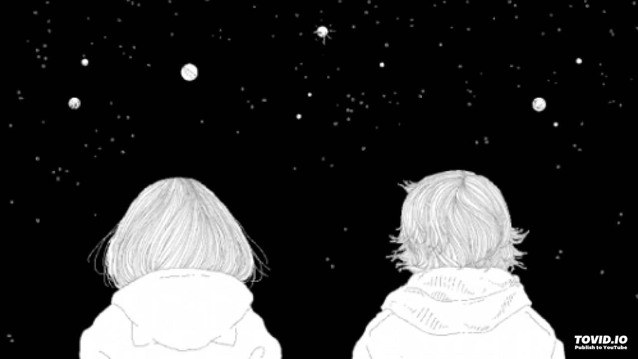 როცა მთვარე ვარსკვლავებს ნახავს♥