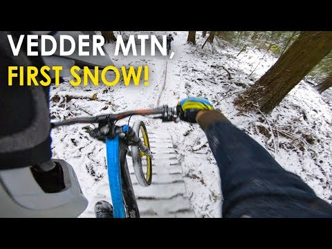 Time for a Snow Ride! - Shredding Vedder Mountain