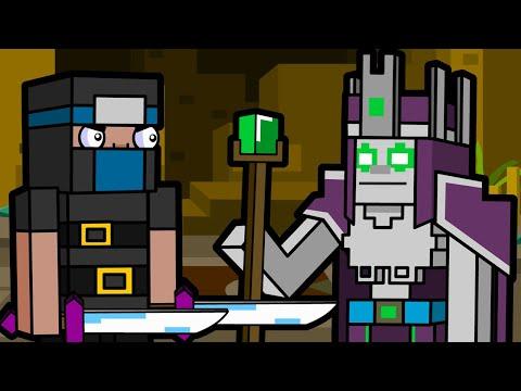 Necromancer & Desert Temple | Minecraft Animation (Block Squad)