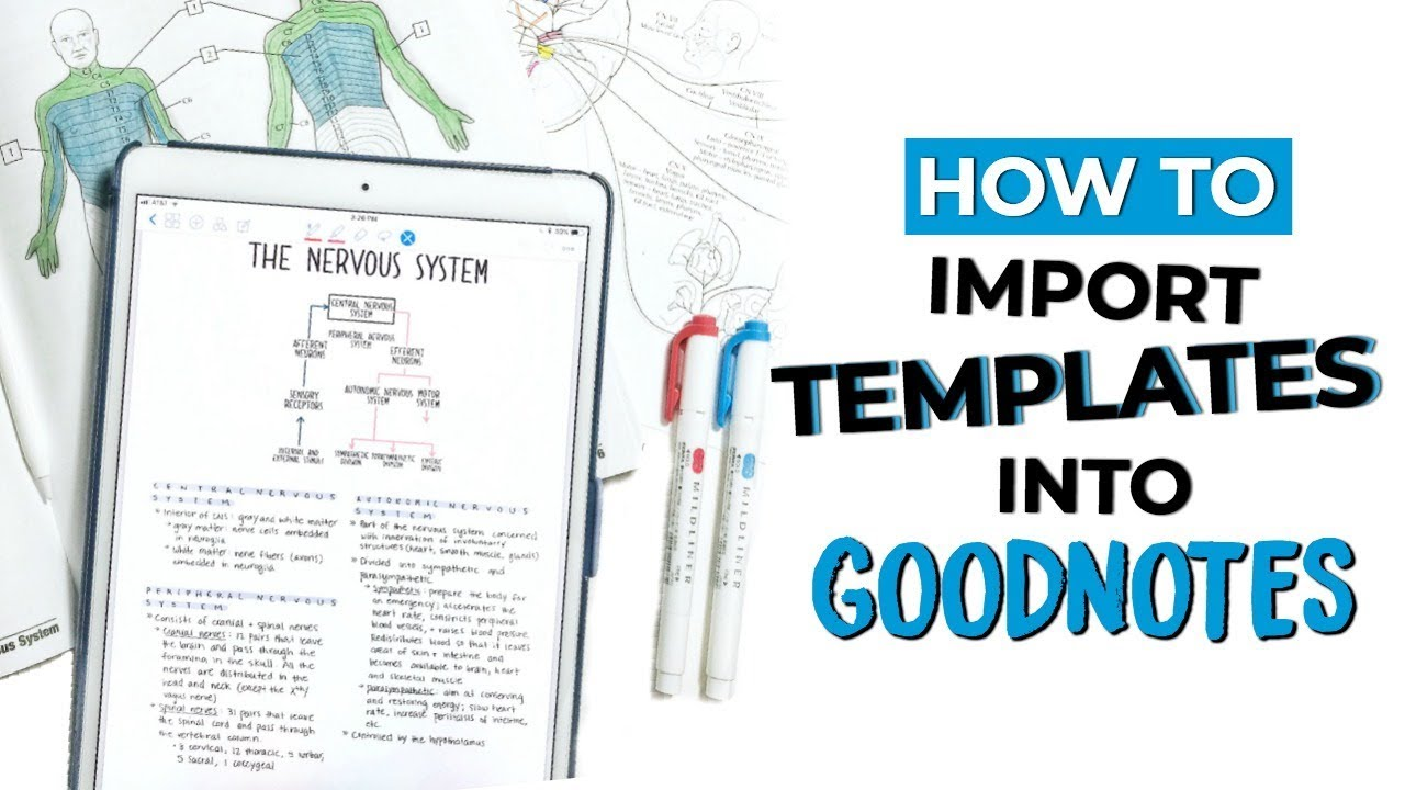 ☆ HOW TO IMPORT TEMPLATES INTO GOODNOTES | GoodNotes Tips + Tricks |  September Studies