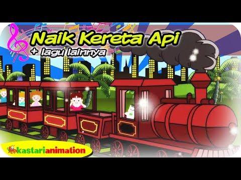 Diva Naik Kereta Api | Lagu Anak Indonesia Bernyanyi Bersama Diva | Kastari Animation Official