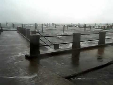 Jamestown, RI during Hurricane Sandy