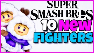 10 New Characters We NEED for Smash Bros Switch