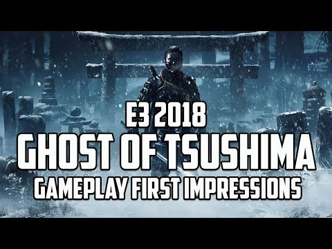 E3 2018 | Ghost of Tsushima Gameplay Impressions
