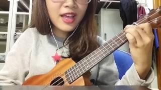 Lúc nhớ nhung - cover ukulele by Dung Nhi