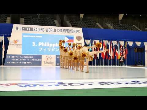 2017 9th CWC Team Philippines Team Iriga City   MAG Dancers   Cheer Dance Senior   Day 1 Gold Perfor