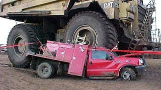 Heavy Equipment Accidents Caught On Tape, Truck Loading Fail, Truck Accident Videos