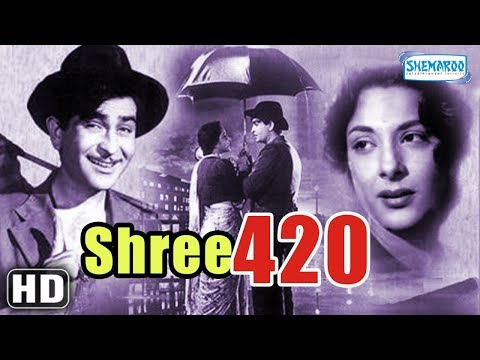 Raj kapoor & Nargis Dutt Superhit Movie - Shree 420 [HD] (1955)- Bollywood Classic Movie