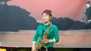 장선희색소폰~여자의일생(이미자) 테너