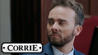 Nick and David Get the Worst Possible Sentences | Coronation Street
