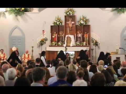 Poor Sisters of Saint Clare Enclosure Mass part 1