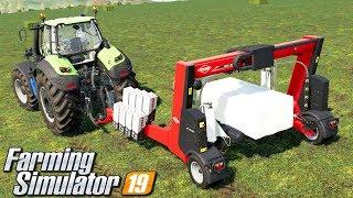 Owijanie kostek - Farming Simulator 19 | #64