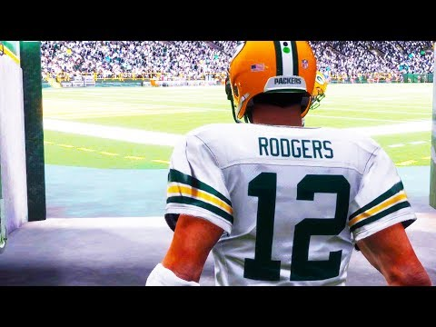 Madden 18 Gameplay COLOR RUSH - Detroit Lions vs. Green Bay Packers - PS4 PRO 1080p 60fps