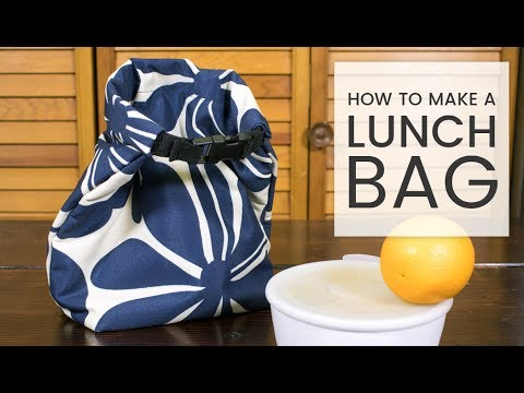 268ba48e78fc How to Make a Lunch Bag - YouTube