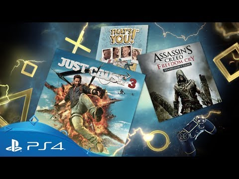PlayStation Plus | Your PS4 Monthly Games for August 2017 | PS4