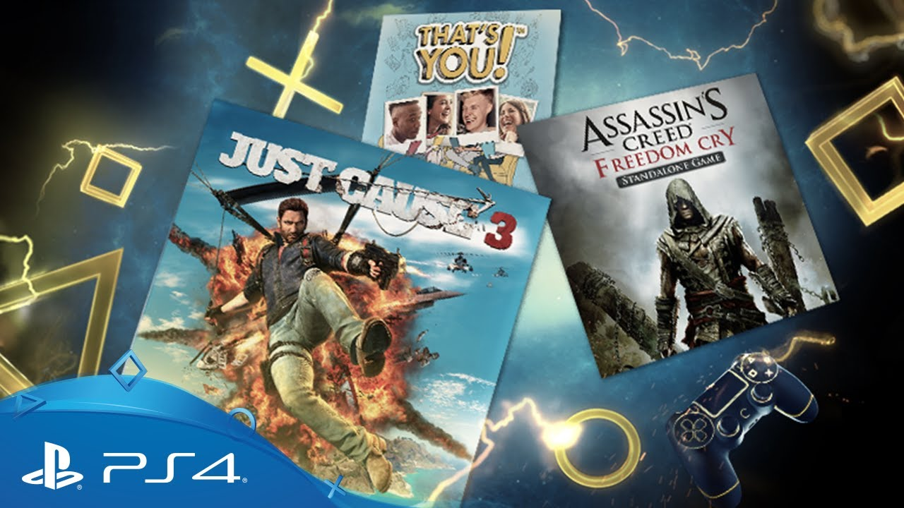 Playstation Plus Your Ps4 Monthly Games For August 2017