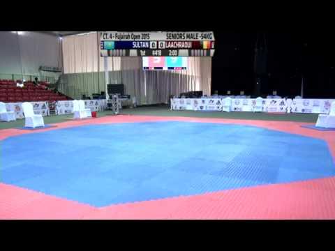 Fujairah Open International Taekwondo Day 2 Court 4