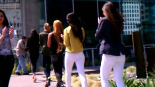 Beso Moda model casting and rehearsal Thumbnail