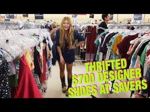 Savers Crazy Designer Find!  Thrift With Me / Haul