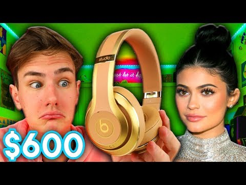 Trying Out $600 Kylie Jenner Beats