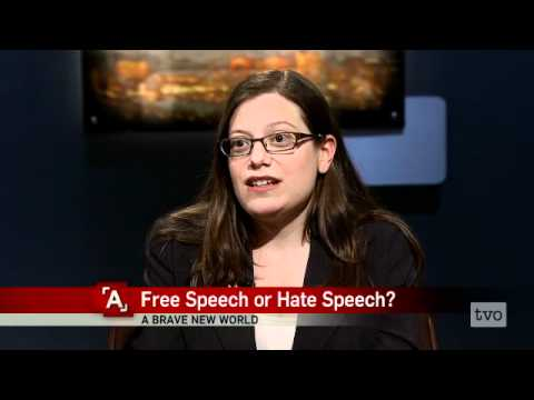 When is Free Speech Hate Speech?