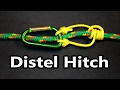 The Distel hitch (knot) in details   Popular Climbing Knots   Do it right