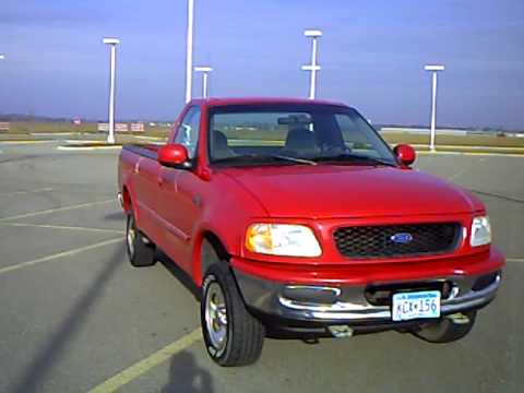 Ford Box Truck >> 1997 Ford F150 Reg Cab Long Box XLT - YouTube
