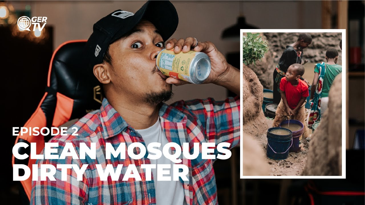 CLEAN MOSQUES DIRTY WATER