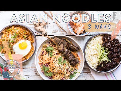 3 INCREDIBLE ASIAN NOODLE DISHES - Honeysuckle