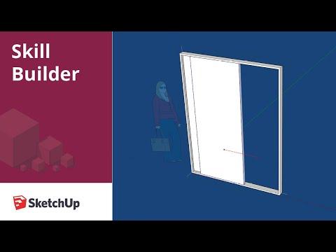 Sliding Door Dynamic Component - Skill Builder