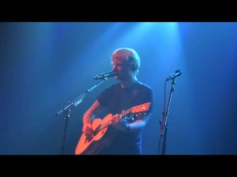 Ed Sheeran - Tenerife Sea/Kiss Me/This @ Le Bataclan, Paris 27/11/14