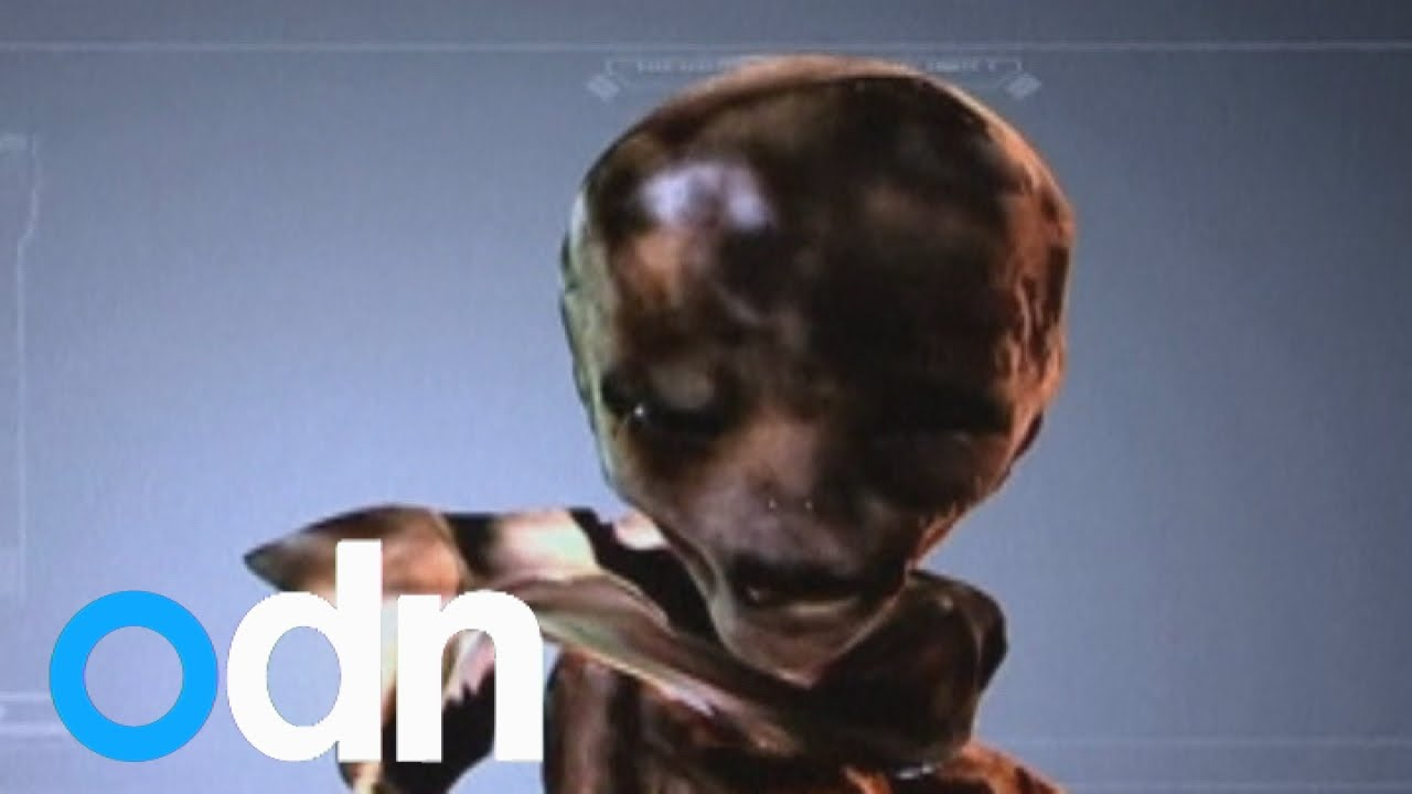 Photos of an alleged alien have emerged