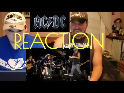 ACDC Reaction Thunderstruck Live in Argentina River Plate
