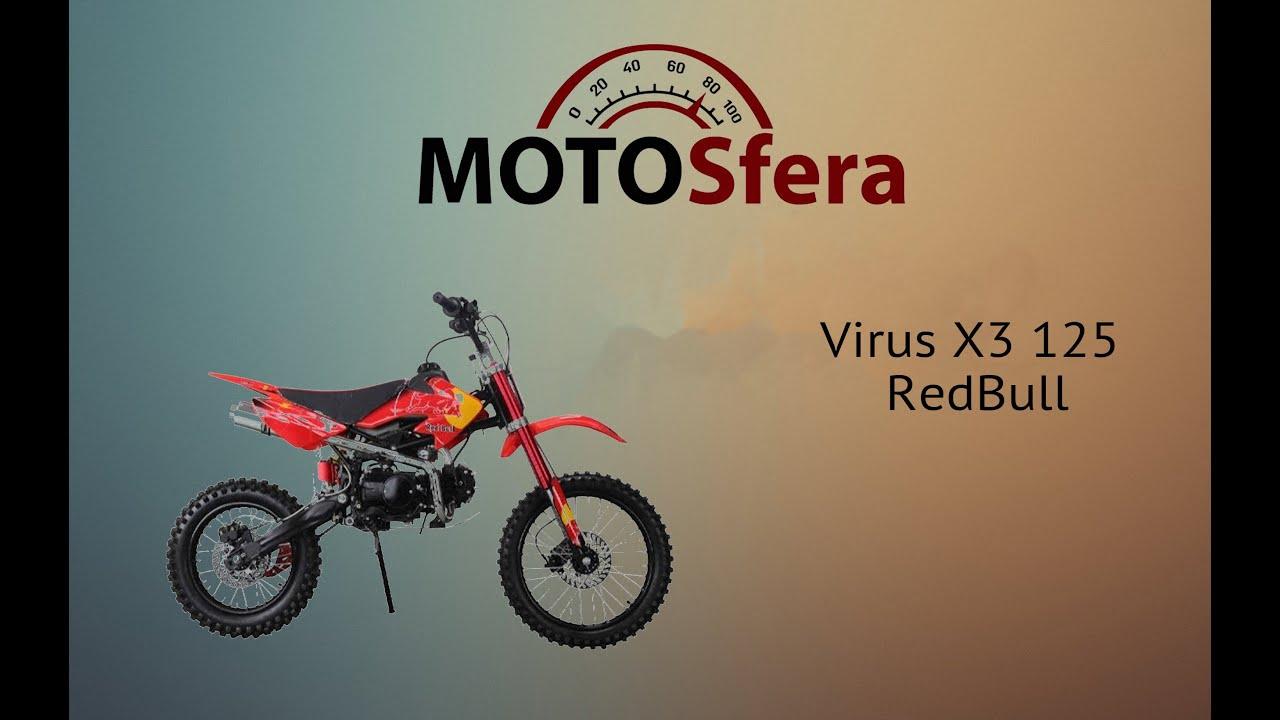 Обзор питбайка virus x2r от Всеквадрики - YouTube