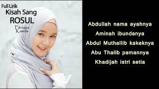TERBARU VIDEO LIRIK! Kisah sang rosul ~ Habib Rizieq shihab (cover Fitriana)