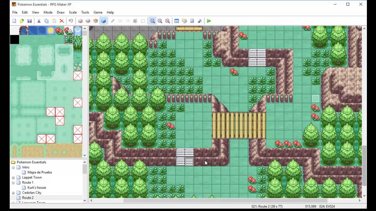 Tutorial Pokémon Essentials con RPG Maker XP #2 - Eventos