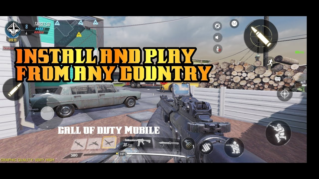 Call of duty Mobile download, install and play from any country | Call Of  Duty Mobile Beta | -