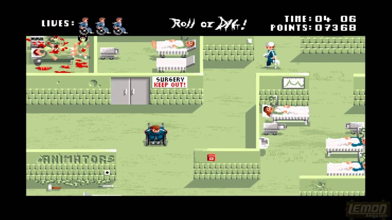 Roll Or Die (Amiga) - A Playthru Guide and Review - by LemonAmiga com