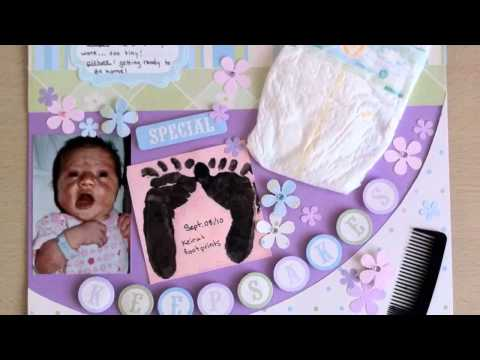 Scrapbooking Templates For Babies