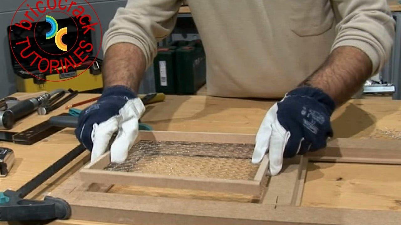 Construir puerta para mueble 3 - Decoración (Bricocrack) - YouTube