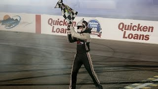 Peters capitalizes, steals victory in the desert