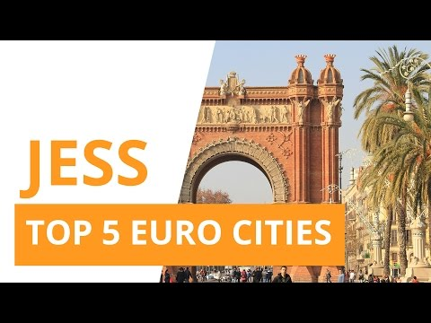 TOP 5 European City Breaks with Jess, The Travel Marketplace Transfertravel.com