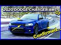 2020 DODGE CHARGER GT AWD... CONFIRMED for 2020 lineup!!!