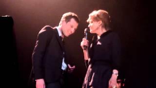"""Alex Beaupain & Fanny Ardant """"Baiser tout le temps"""" @ Casino de Paris"""