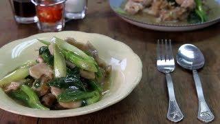 Video & Recipe 003 - ราดหน้าหมูหมัก (noodles In Thick Gravy)