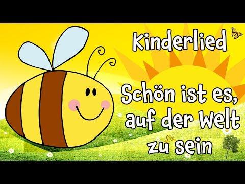 ♪ ♪ Kinderlied - Schön ist es es auf der Welt zu sein  ♫ DONIKKL Kindermusik