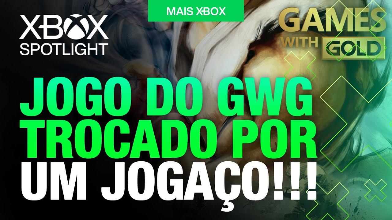 SURPRESA! SUBSTITUIÇÃO no GAMES WITH GOLD de AGOSTO por JOGO INCRÍVEL!
