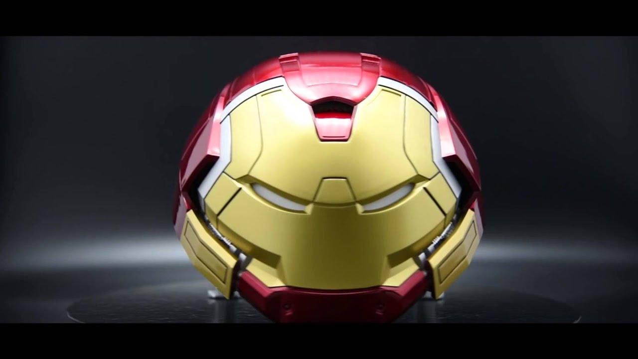 marvel iron man hulkbuster 1:2 scale bluetooth speaker - youtube