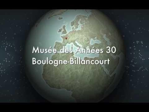 Musée des Années 30 à Boulogne-Billancourt