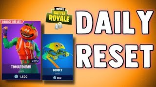 FORTNITE DAILY SKIN RESET - TOMATOHEAD SKIN!! Fortnite Battle Royale NEW Daily Items in Item Shop